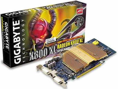Gigabyte x800 512 MB