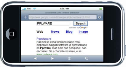 Google for iPhone