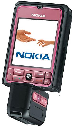 Nokia 3250 pink