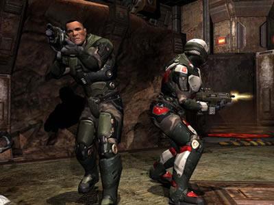 Quake 4 demo