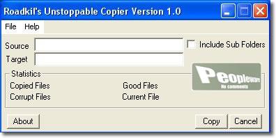 Unstoppable Copier