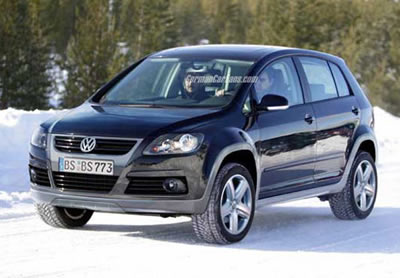 VW Golf SUV