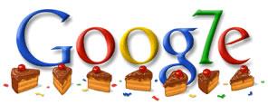 Google faz 7 anos