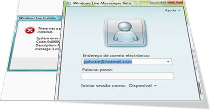 iniciar windows messenger: