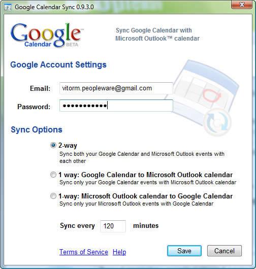 Sincronizar Google Calendar e Outlook - Pplware