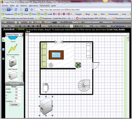 Project draw 0 7 8 pplware for Software para construir casas