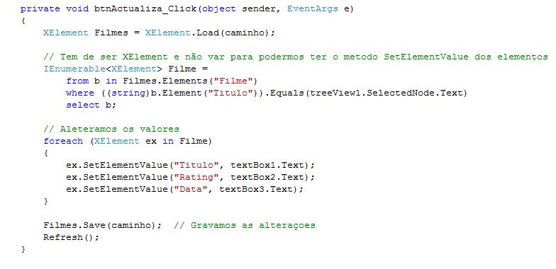 Tutorial C# - Linq to XML - Pplware