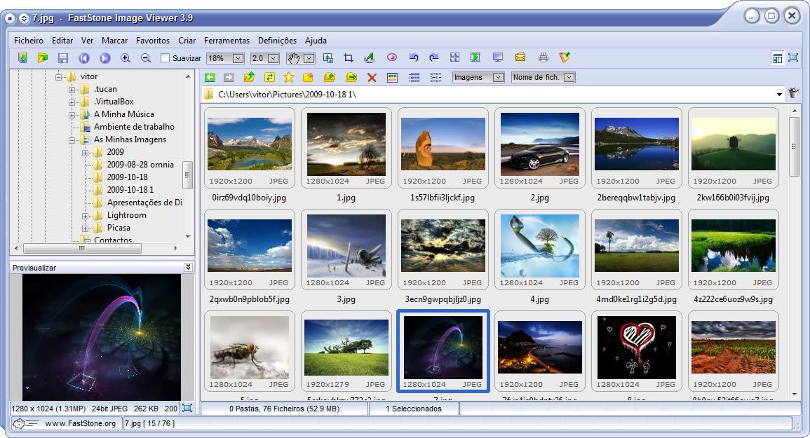 FastStone Image Viewer 3 9 - Organize as suas fotos - Pplware