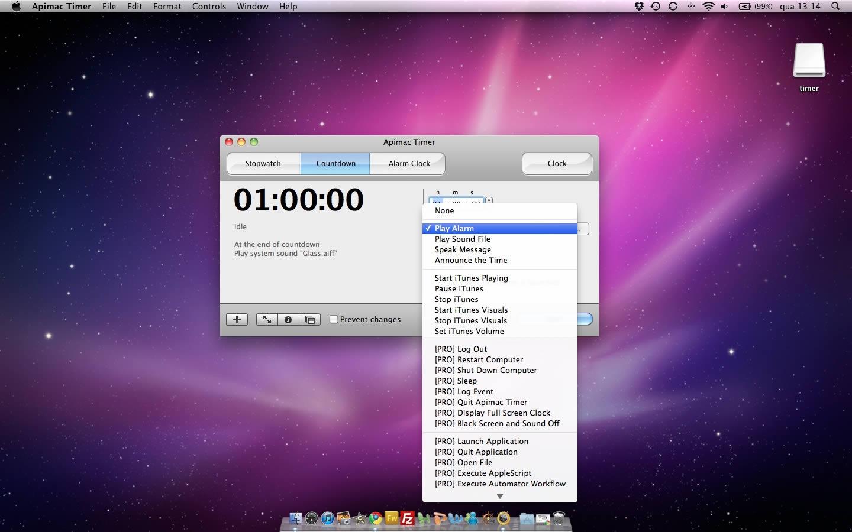 Pimac Timer - Relógio, cronómetro e muito mais    - Pplware