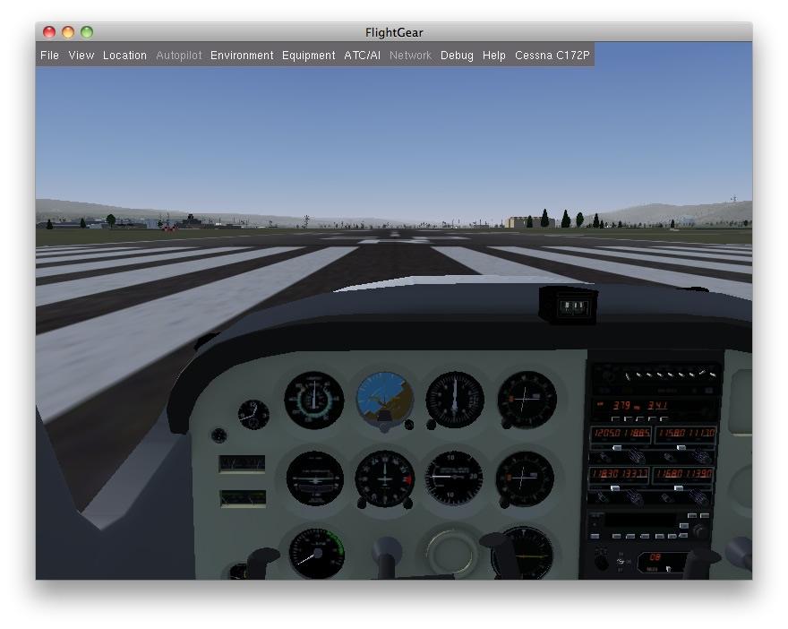 FlightGear 2 0 - Quer Pilotar um 747? - Pplware