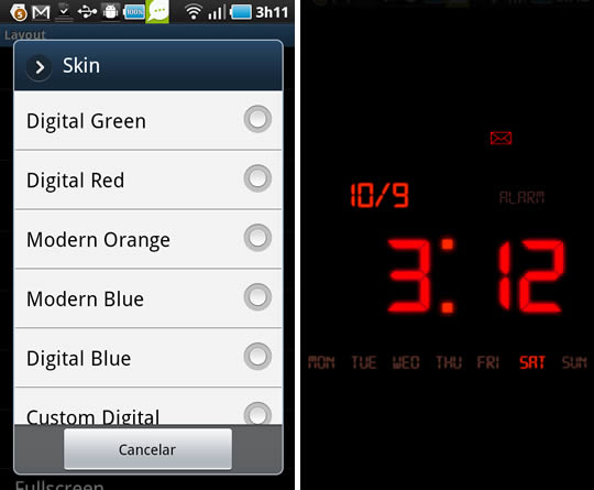 Kaloer – the Conceptual Clock for Android