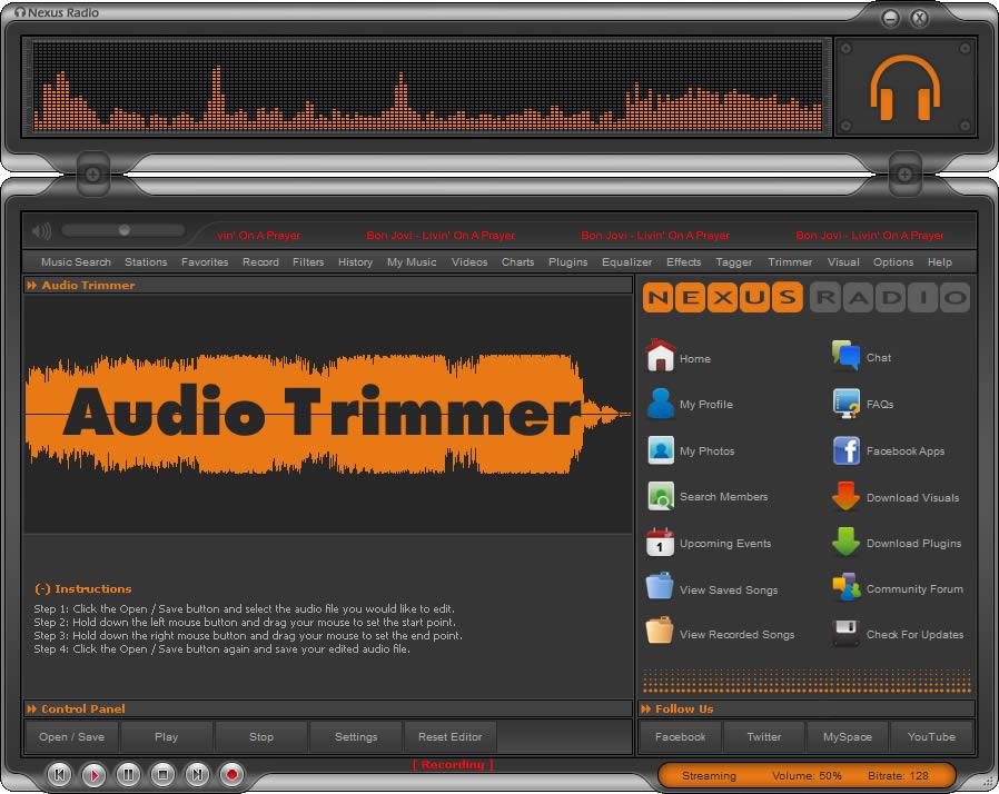 Nexus Radio 5 0 - Super Suite de rádios online - Pplware