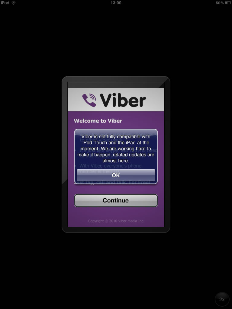 Viber – Chamadas Grátis a partir do seu iPad e iPod Touch