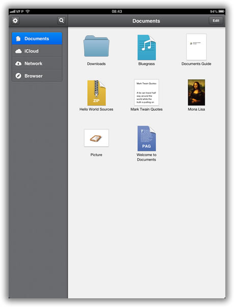 Documents by Readdle - A Super app para iPad - Pplware