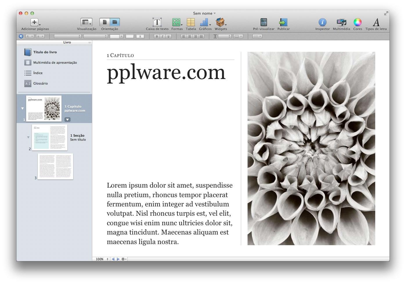 iBooks Author 2 0 - É tão fácil fazer iBooks - Pplware