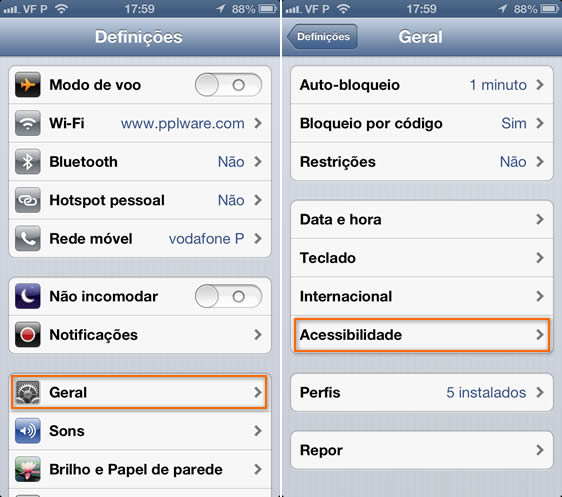 Dica iOS: Ligue as Notificações por Voz