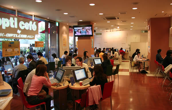 cybercafe Better off paying monthly internet fees – blah coming here is for the tourists who can afford it or the people who are in such a rush they have no choice but to come here to pay for their inability to print out quality material or find the information they could've gotten at home.