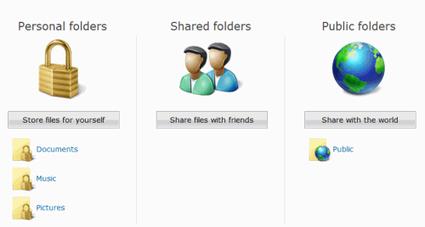 Windows Live Folders