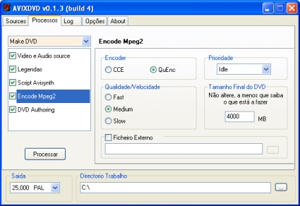 AVIXDVD - Encode Mpeg2