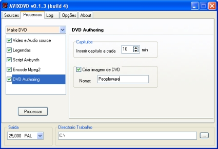 AVIXDVD - DVD Authoring