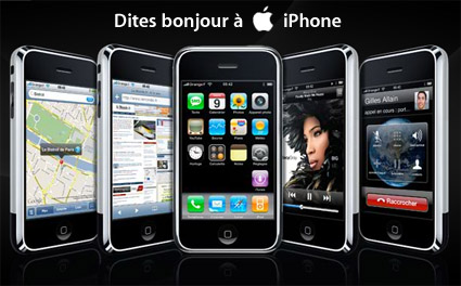 Bonjour iPhone