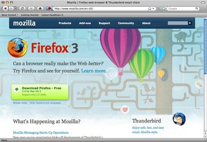 Firefox 3.0 Mac