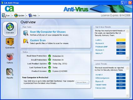 CA Antivirus 2008
