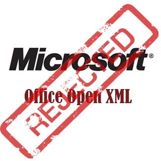 OOXML Rejected