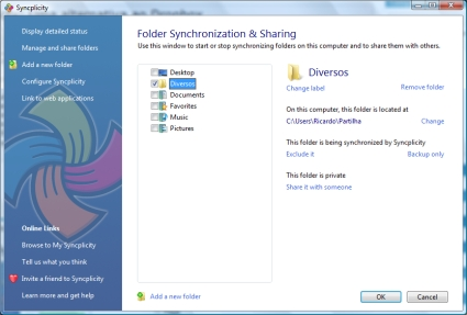 Syncplicity - Folders