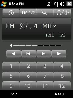 NDrive S400 - Rádio FM