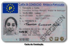 carta conducao nova