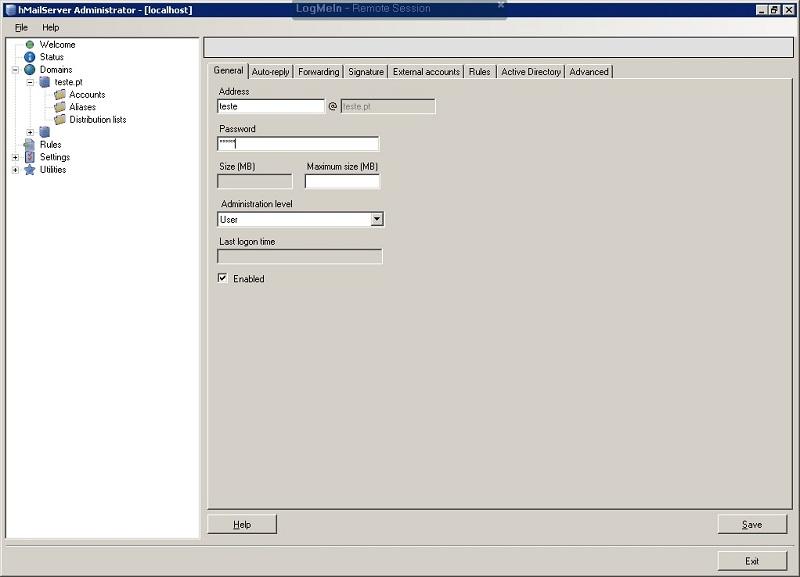 HmailServer - O seu servidor de email gratuito! - Pplware