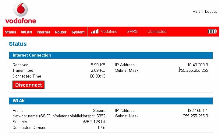 Análise: Vodafone MiFi 2352 - Router Wifi e 3G Portátil - Pplware