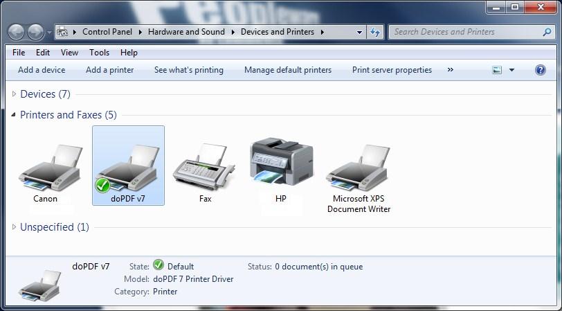 Impressora Pdf Creator Gratis