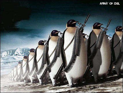 linux-wallpapper-26- Damn Small Linux Army