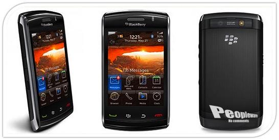 BlackBerry Storm 2 Splash Screen