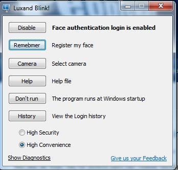 Luxand Blink 2 0 - Autentique-se no Windows usando a sua face - Pplware