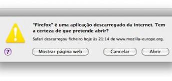Aviso Mac OS X
