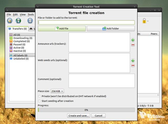 qBittorrent 2 4 5 - Torrents no Linux, MacOS e Windows - Pplware