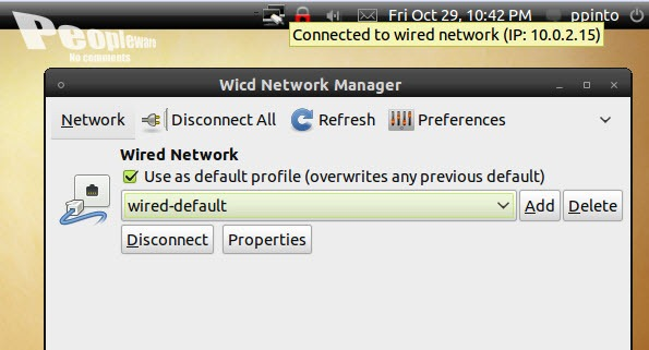 Wicd Network Manager no Ubuntu - Pplware