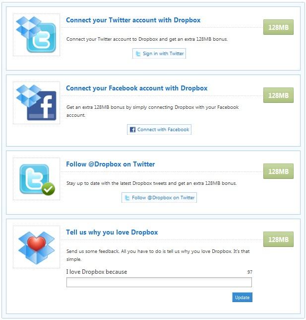 Dropbox – Aumentar o espaço disponibilizado gratuitamente - Pplware