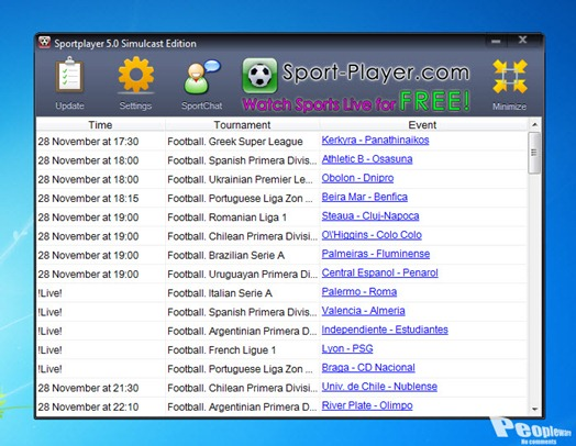 SportvPlayerPlus 4.01 Download Pc