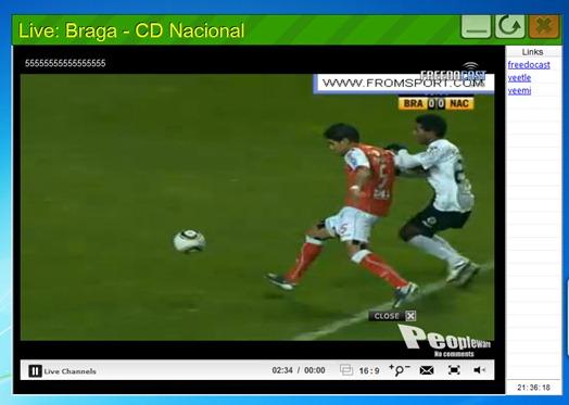 Ver futebol stream
