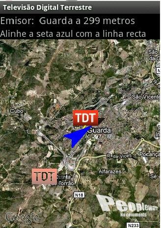 mapa de emissores tdt em espanha Emissores de TV Digital Terrestre (TDT) no Android   Pplware mapa de emissores tdt em espanha