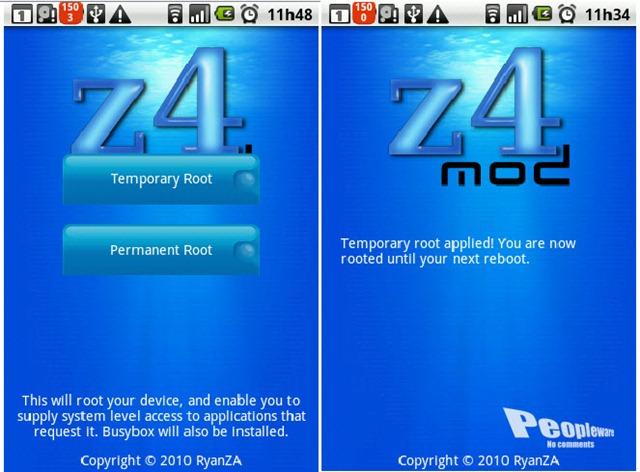 Z4root – Tenha acesso como root ao seu telemóvel - Pplware