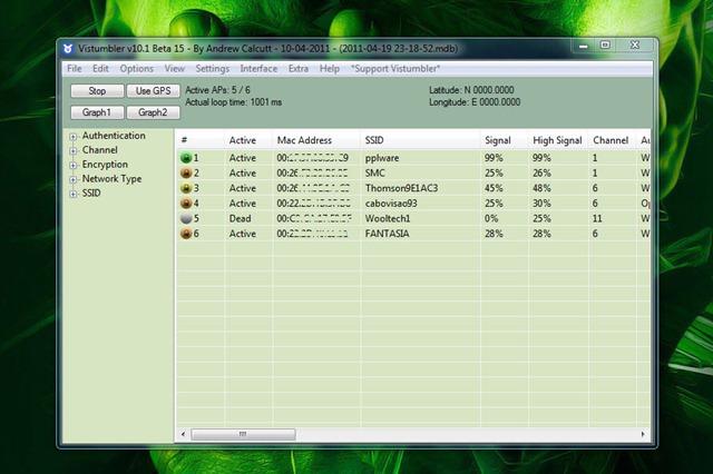 DESCARGAR VISTUMBLER PARA WINDOWS XP