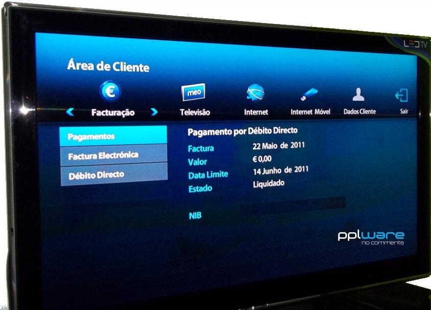 Dica Meo – Veja informações sobre facturação na TV - Pplware
