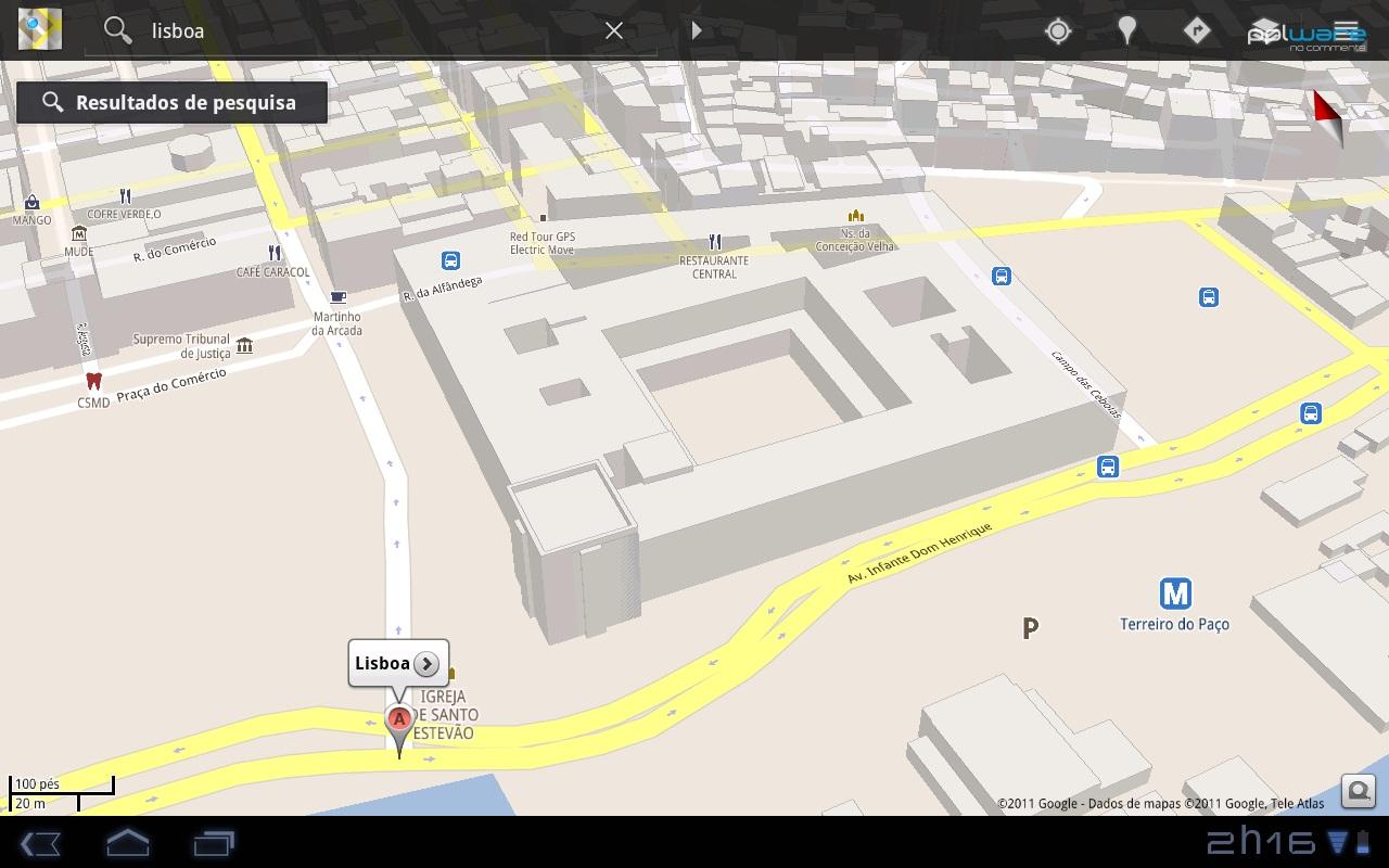 Edif Cios 3d Em Lisboa No Google Maps Para Android Pplware