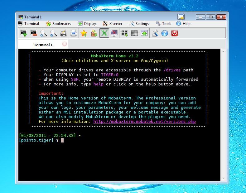 MobaXterm - Um terminal Unix no Windows - Pplware