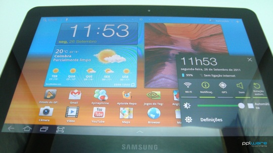 Análise - Samsung Galaxy Tab 10 1